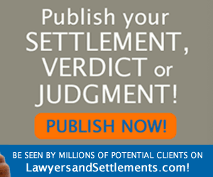 Publish your verdicts and settlements at no charge