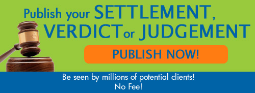 OLM Settlement Verdict Frame Ad for Site Rectangle Version